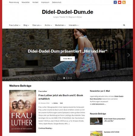 Didel-Dadel-Dum.de Redesign 2017